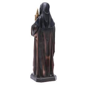 Estatua Santa Clara 31 cm s3