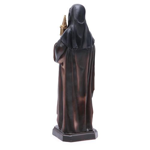 Statue Ste Claire 31 cm 3