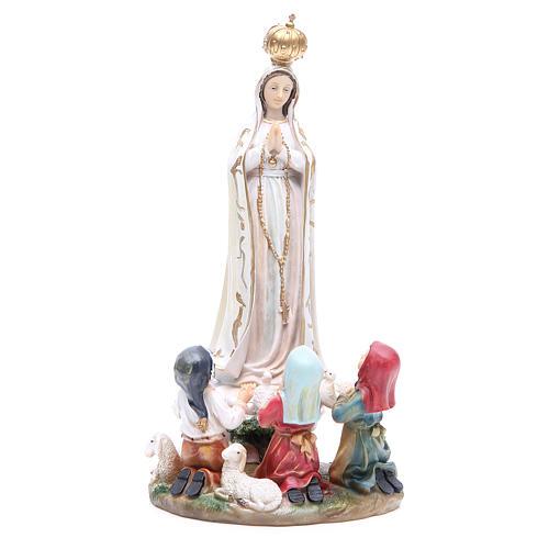 Statua Madonna Fatima 30 cm resina 1
