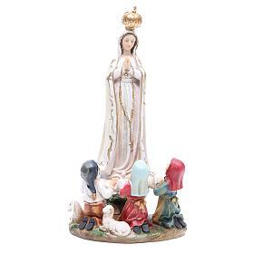 Imagens em Resina e PVC: Imagem Nossa Senhora Fátima 30 cm resina