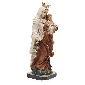 Statue Notre-Dame Mont-Carmel 32 cm résine s4