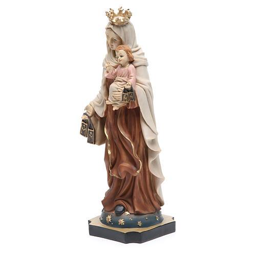 Statue Notre-Dame Mont-Carmel 32 cm résine 2