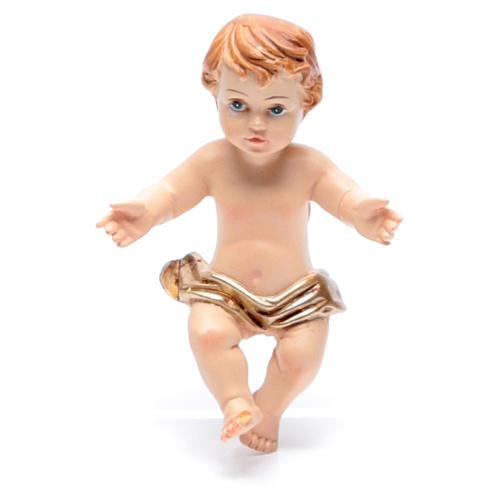 Baby Jesus figurine in resin measuring 6cm 1