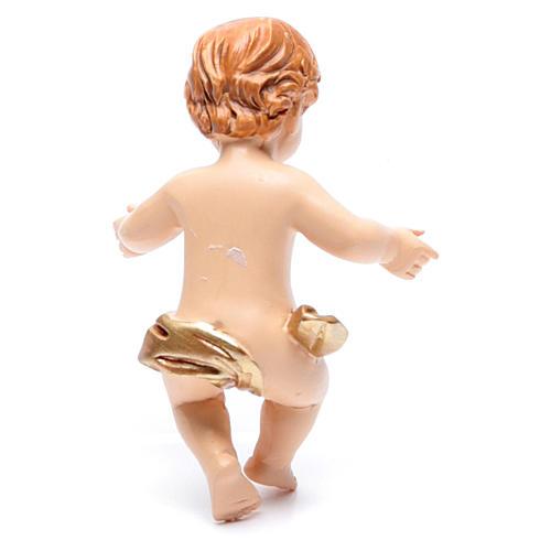 Baby Jesus figurine in resin measuring 6cm 2