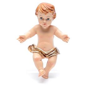Baby Jesus figurine in resin measuring 6cm s1