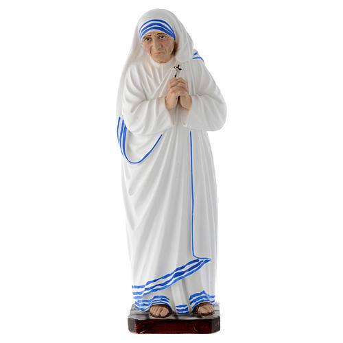 Estatua Santa Madre Teresa de Calcuta 30 cm fibra de vidrio 1