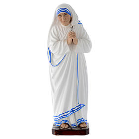Statue Sainte Mère Teresa de Calcutta 30 cm fibre de verre s1
