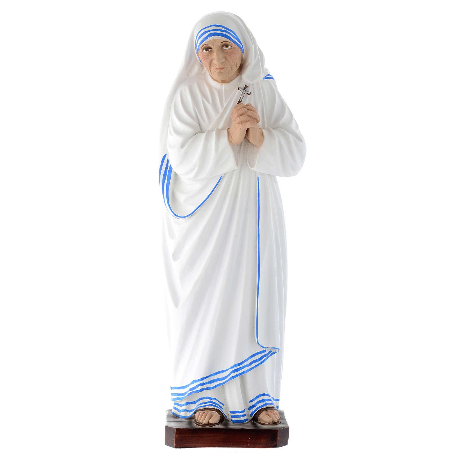 Statua Madre Teresa di Calcutta vetroresina 40 cm 4