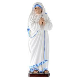 Statua Madre Teresa di Calcutta vetroresina 40 cm s1