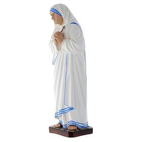 Statua Madre Teresa di Calcutta vetroresina 40 cm s2