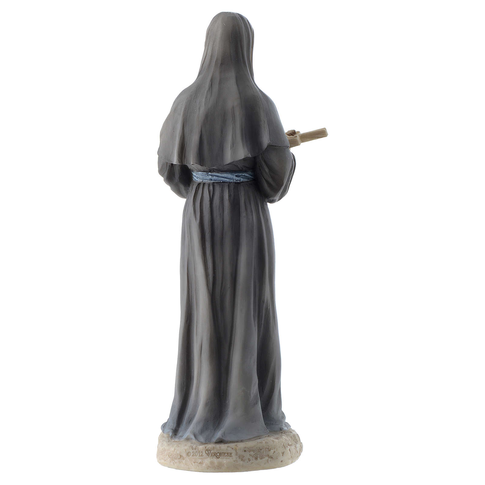 Saint Rita statue 20 cm resin 4