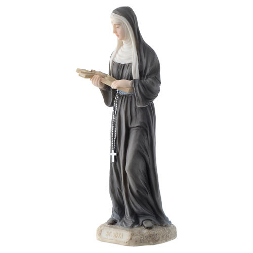 Santa Rita 20 cm resina 3