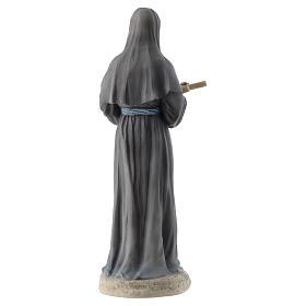 Saint Rita statue 20 cm resin s4