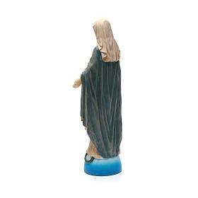 Statua Madonna Miracolosa resina colorata 40 cm s3