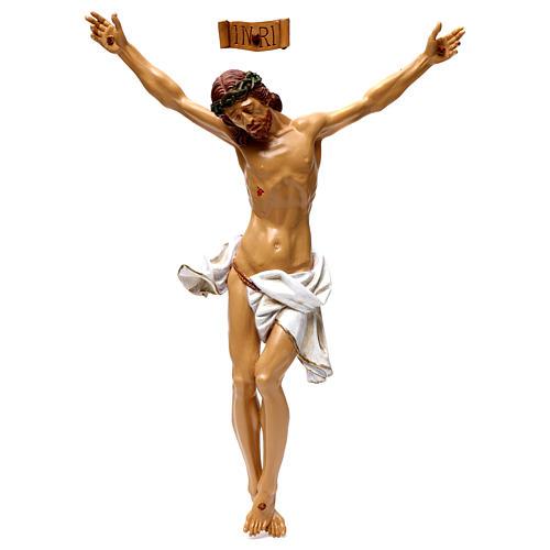 Corpo di Cristo in resina 50x40 cm 1