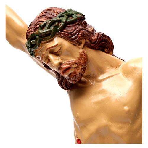 Corpo di Cristo in resina 50x40 cm 2