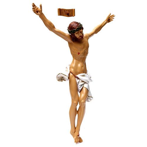 Corpo di Cristo in resina 50x40 cm 4