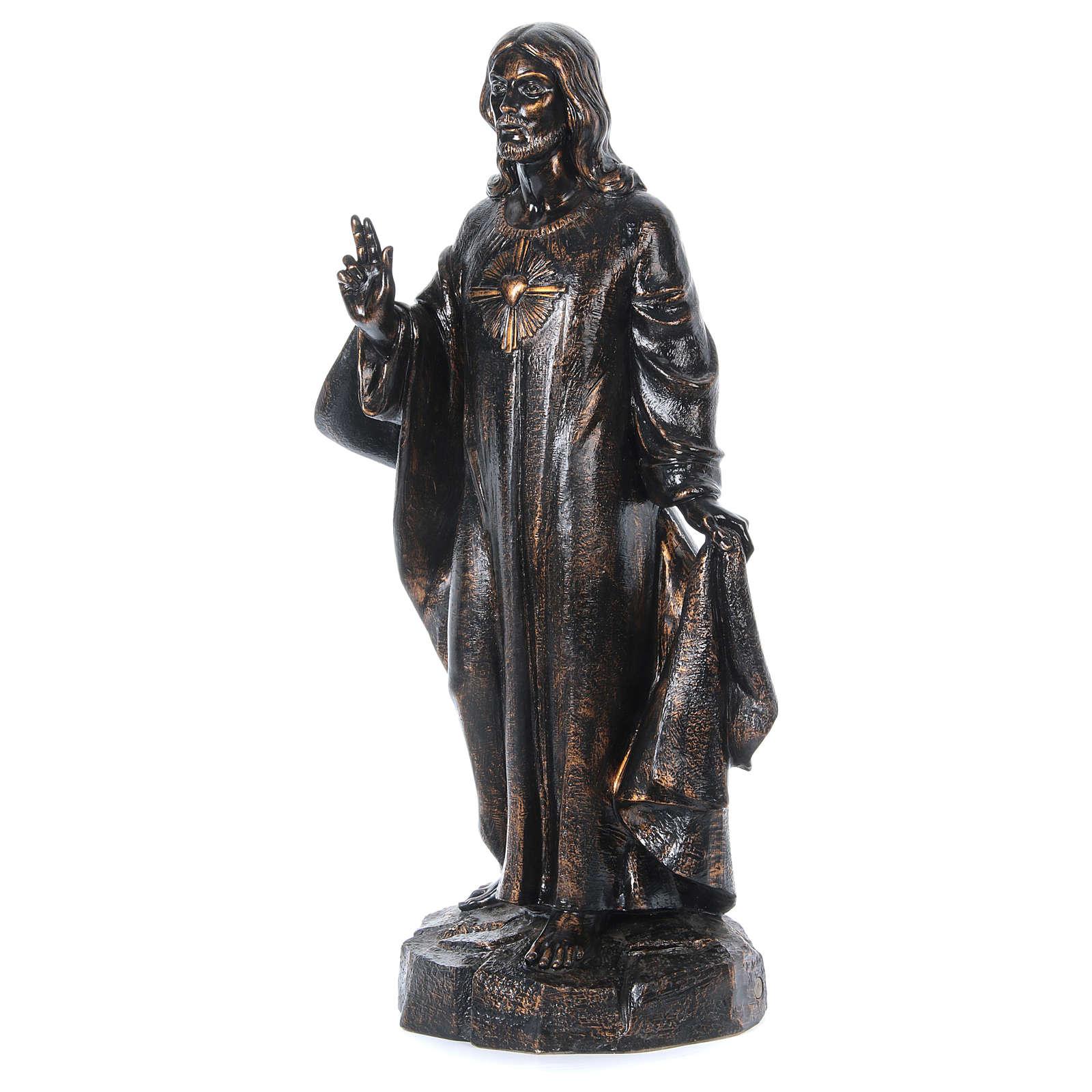 STOCK Sacro cuore bronzato 110 cm Fontanini 4
