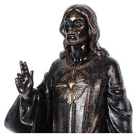STOCK Sacro cuore bronzato 110 cm Fontanini s2