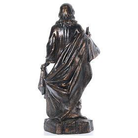 STOCK Sacro cuore bronzato 110 cm Fontanini s5