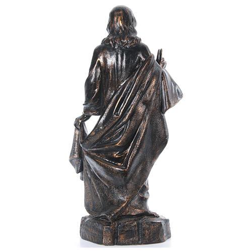 STOCK Sacro cuore bronzato 110 cm Fontanini 5