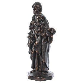 STOCK San Giuseppe bronzato 105 cm Fontanini s6