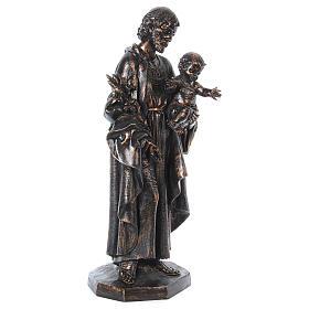 STOCK San Giuseppe bronzato 105 cm Fontanini s7