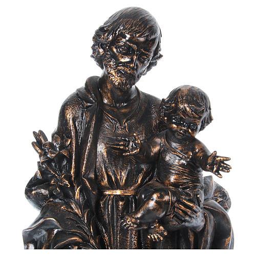 STOCK San Giuseppe bronzato 105 cm Fontanini 3