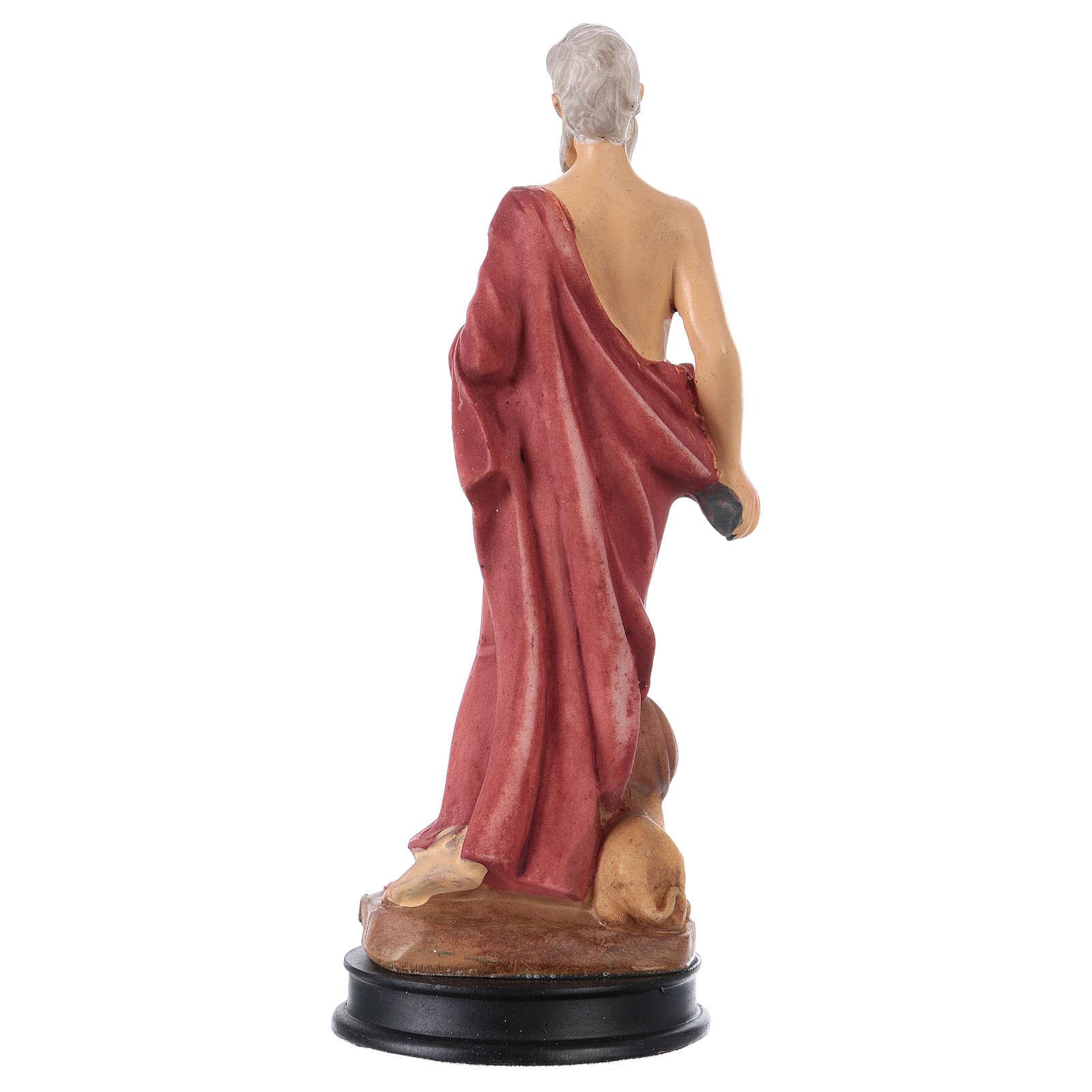 STOCK Statue résine Saint Jérôme 13 cm 4
