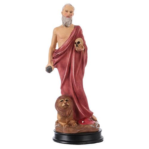 STOCK Statua resina San Girolamo 13 cm 1