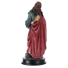 STOCK Statue résine Sainte Maie Madeleine 13 cm s2