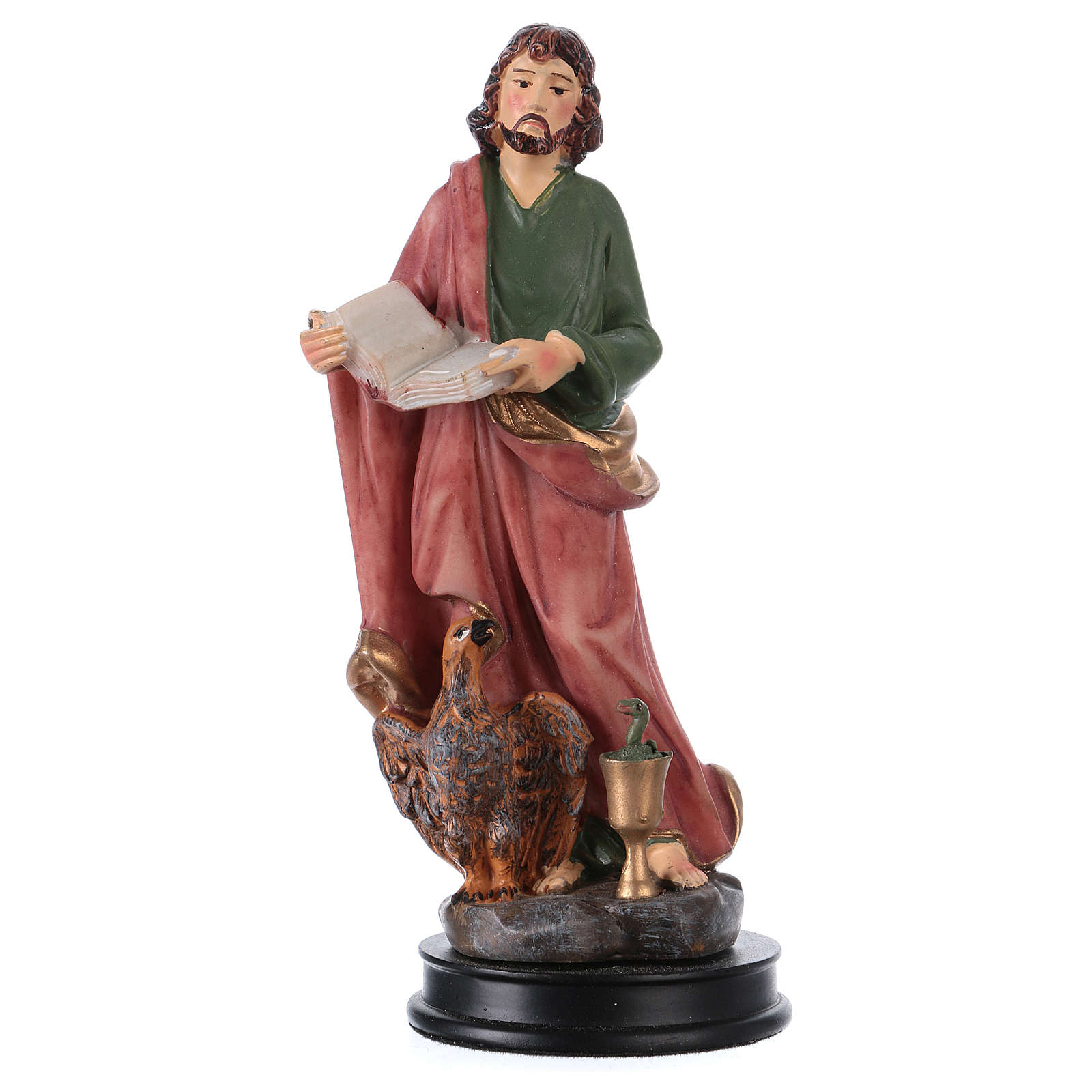 STOCK St John the apostle statue in resin 13 cm 4