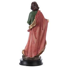 STOCK Statue Saint Jean Évangéliste résine 13 cm s2