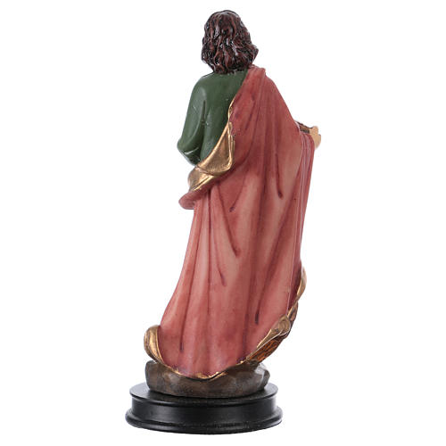 STOCK Statue Saint Jean Évangéliste résine 13 cm 2