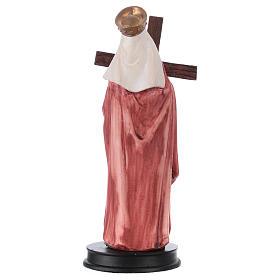 STOCK Statue résine Sainte Hélène13 cm s2