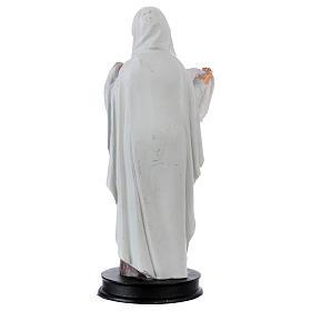 STOCK Statue Sainte Véronique résine 13 cm s2