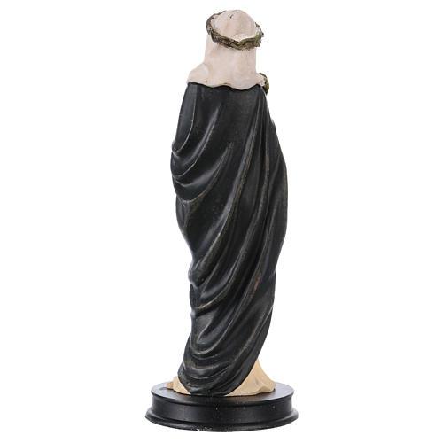 STOCK Statue Sainte Catherine de Sienne résine 13 cm 2