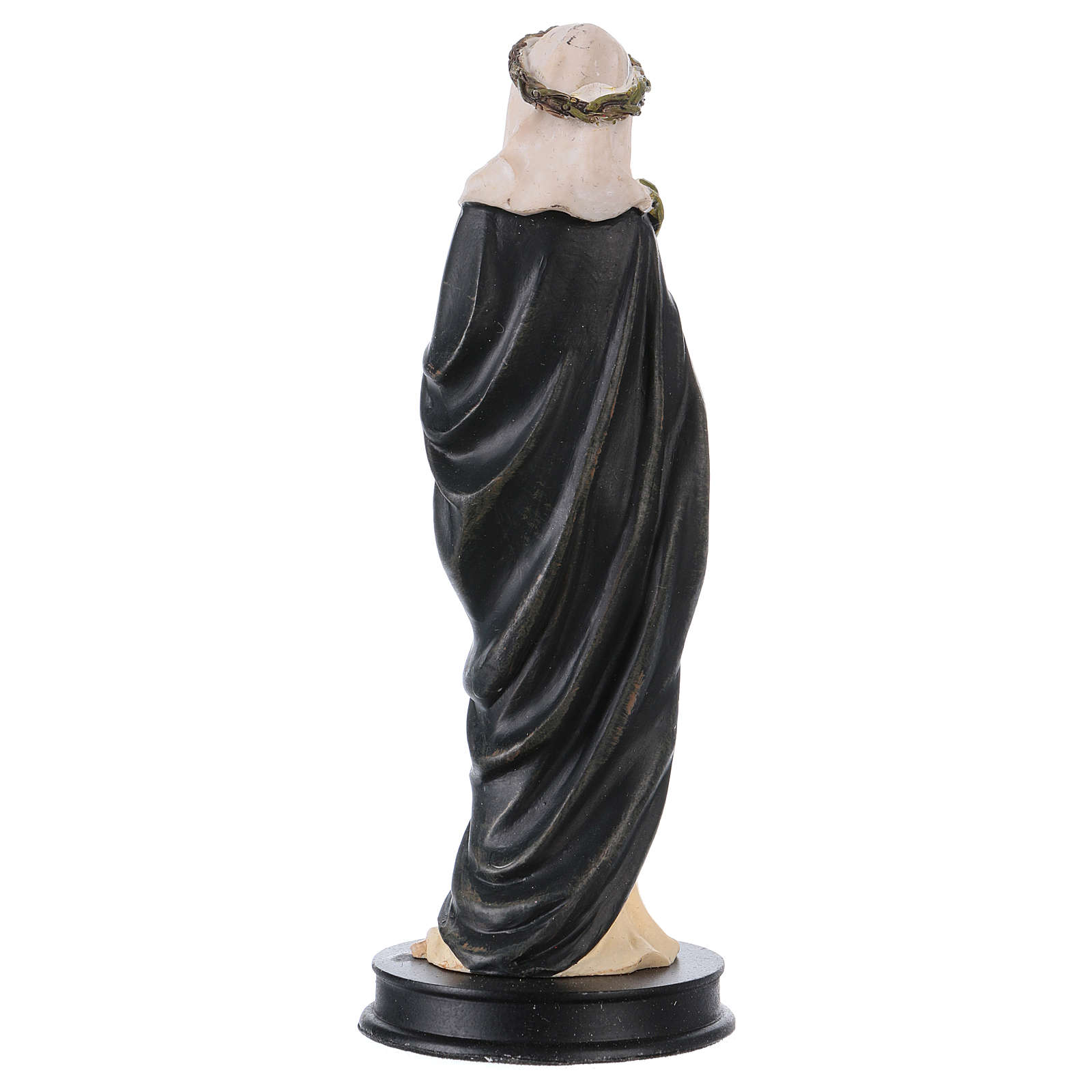 STOCK resin Saint Catherine of Siena statue 13 cm 4