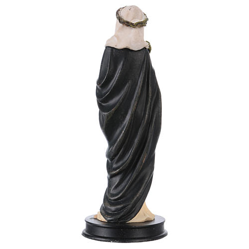 STOCK resin Saint Catherine of Siena statue 13 cm 2