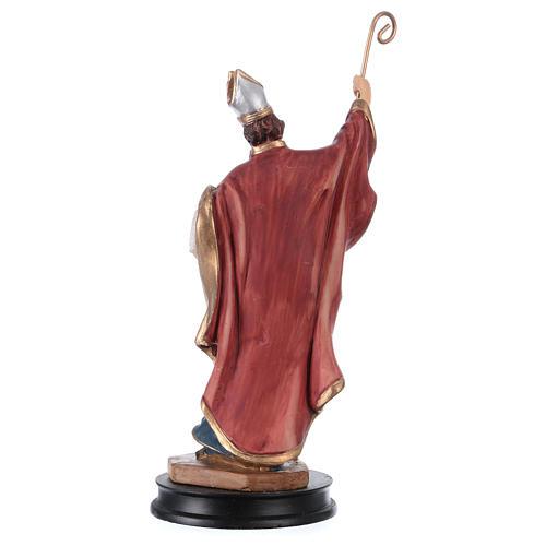 STOCK Statuette résine Saint Ambroise 13 cm 2