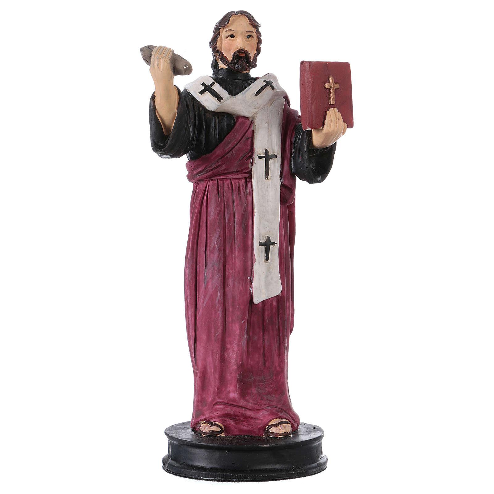STOCK St Barnabas statue in resin 13 cm 4