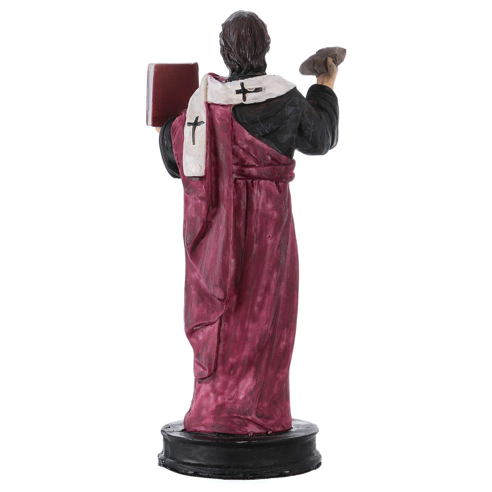STOCK Statua resina San Barnaba 13 cm 4