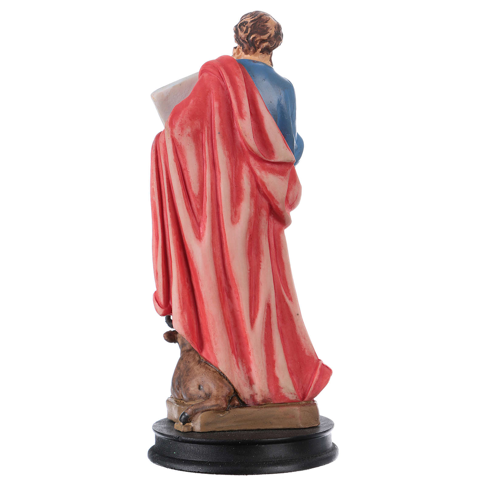 STOCK resin Saint Luke the Evangelist statue 13 cm 4