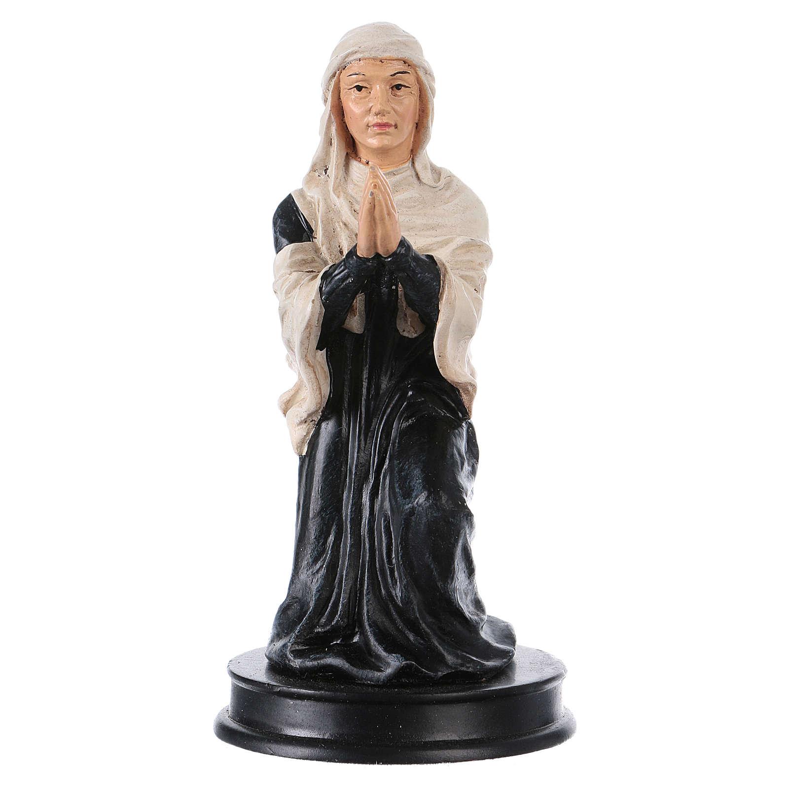STOCK St Elizabeth statue in resin 13 cm 4