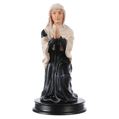 STOCK Figurka żywica Święta Elżbieta 13 cm 1
