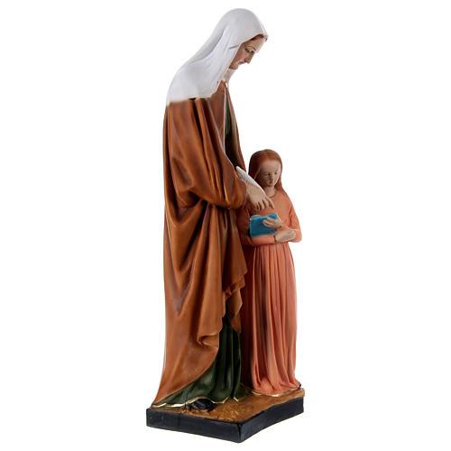 St Anne 60 cm in resin 4