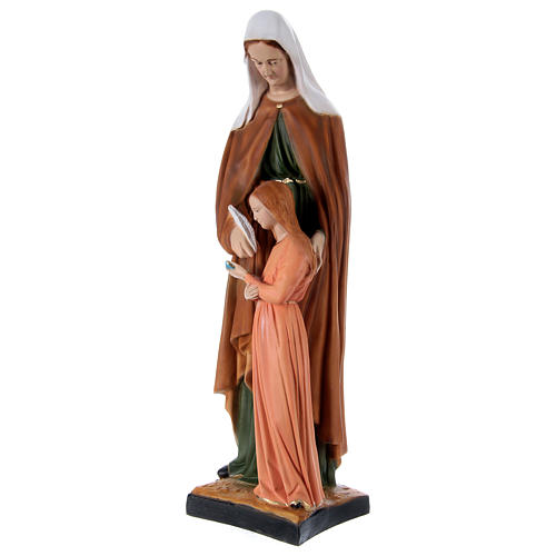 Estatua de resina Santa Ana h 60 cm 3