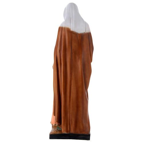 Estatua de resina Santa Ana h 60 cm 5