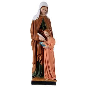 Statua in resina Sant'Anna h 60 cm  s1