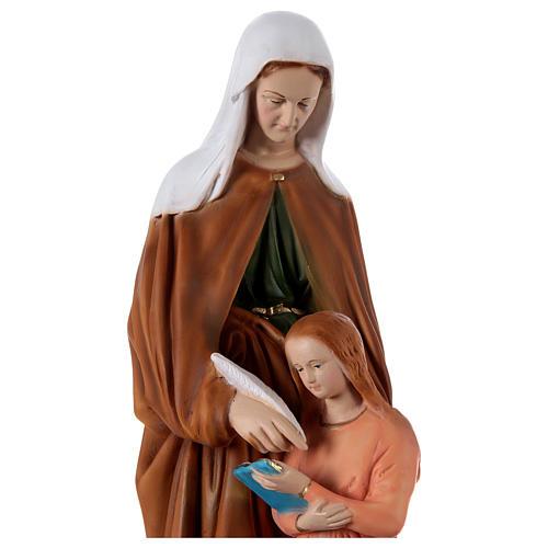 Statua in resina Sant'Anna h 60 cm  2